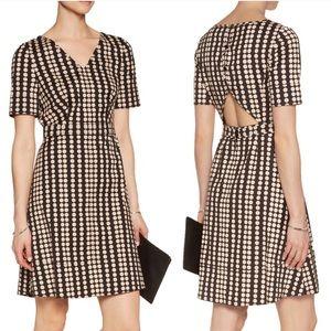 Tory Burch Jada Cutout Polka Dot A-Line Dress